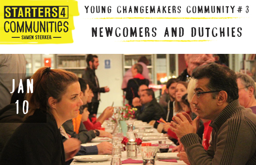 The Young Changemakers Community – Newcomers and Dutchies