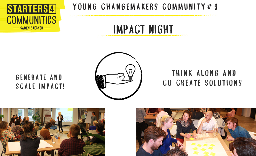 Impact Night – Young Changemakers Community #9