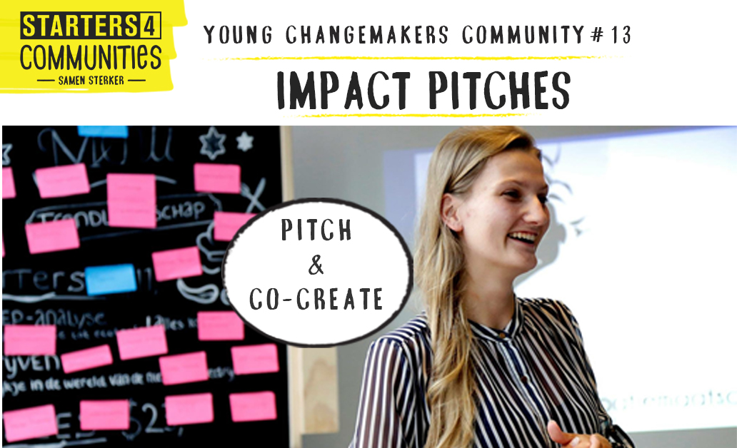 Impact Pitches – Young Changemakers Community #13