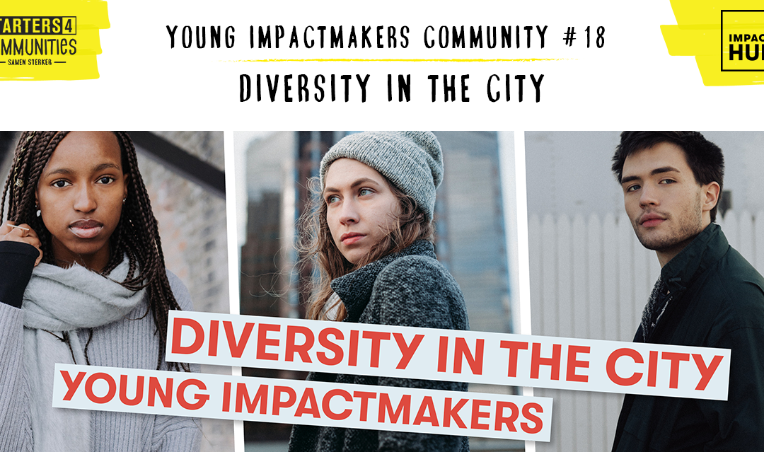 8th may – Diversity In The City – Young Impactmakers Event #18