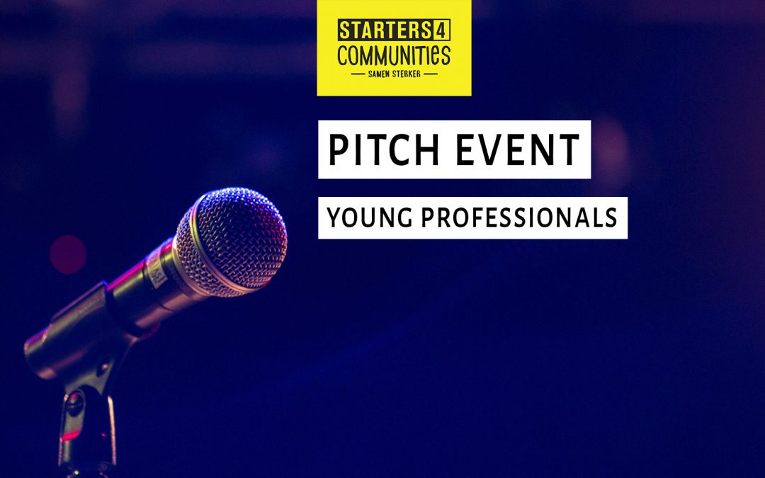 19 dec 2018 | pitch event young professionals